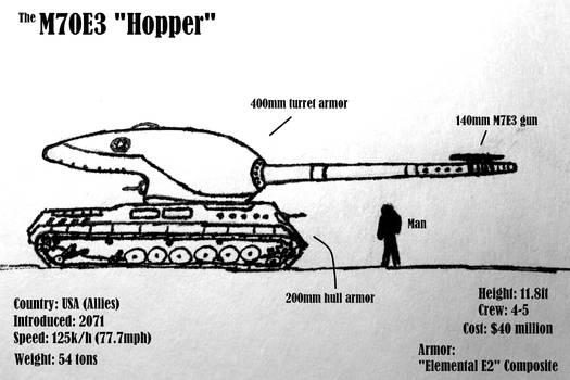 The M70E3 Hopper