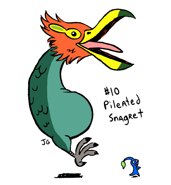 Vg Bosses 10 Pileated Snagret By Greliz On Deviantart