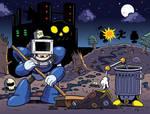 Megaman - Sanitation Scuffle