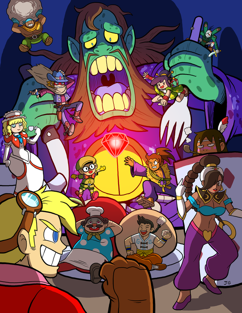 Capcom Fighting Tribute - Fancy Dinner Party by greliz