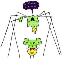 Super Paper Mario: Mimi by greliz