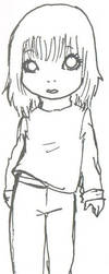 Yume chan... uncoloured by Chibzies