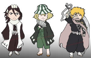 Bookmarks - Chibi Bleach by Chibzies