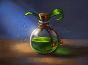 Bottle of potion