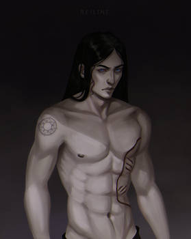 [Commission] Man with scars