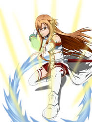 Asuna by KyuubifiedHokage