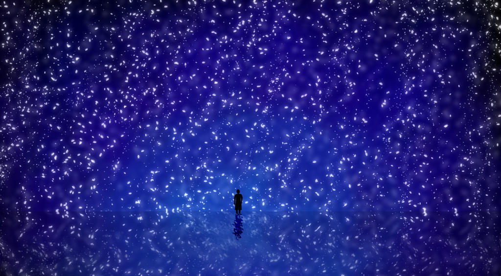 Alone with the Universe by Scaphe