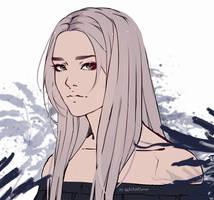 Sketch. OC Elena by WhiteKuroe