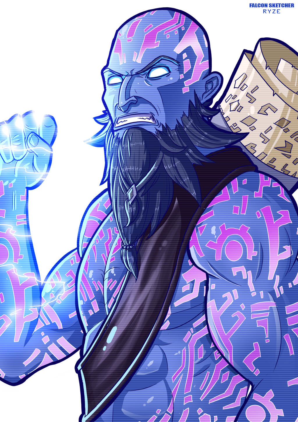 RYZE THE RUNE MAGE By StretchNSin