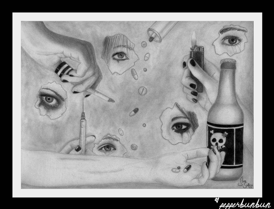 The Eyes That Cry by pepperbunbun