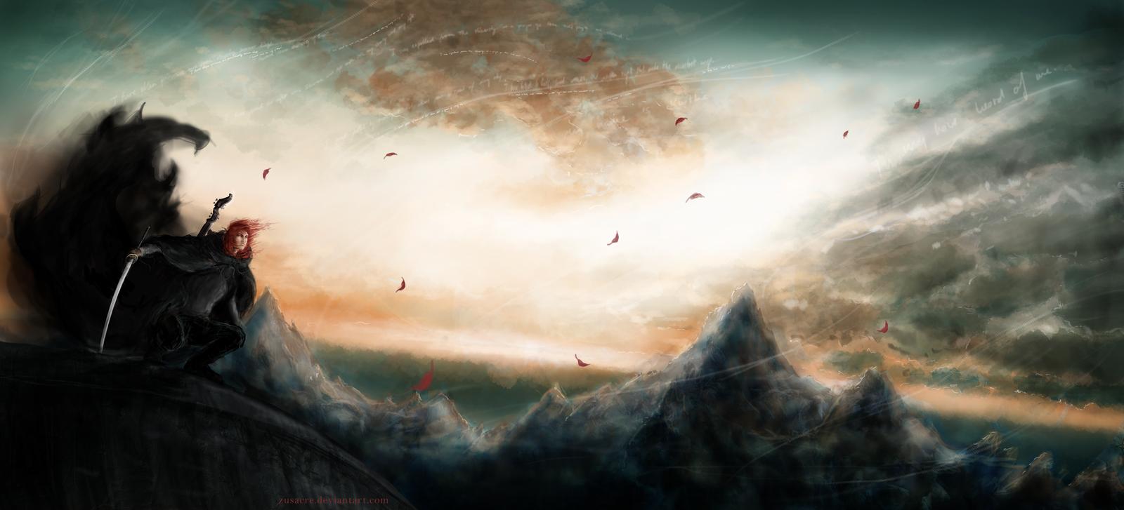 Kvothe by Zusacre