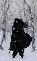 Lady in Black by Zusacre