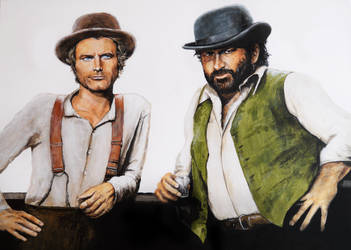 Bud Spencer and Terence Hill by Zusacre