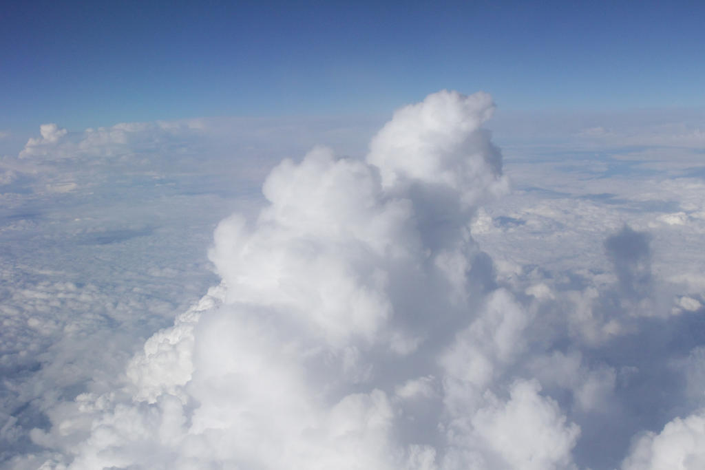 Top side of a cloud by BrianHanson2nd