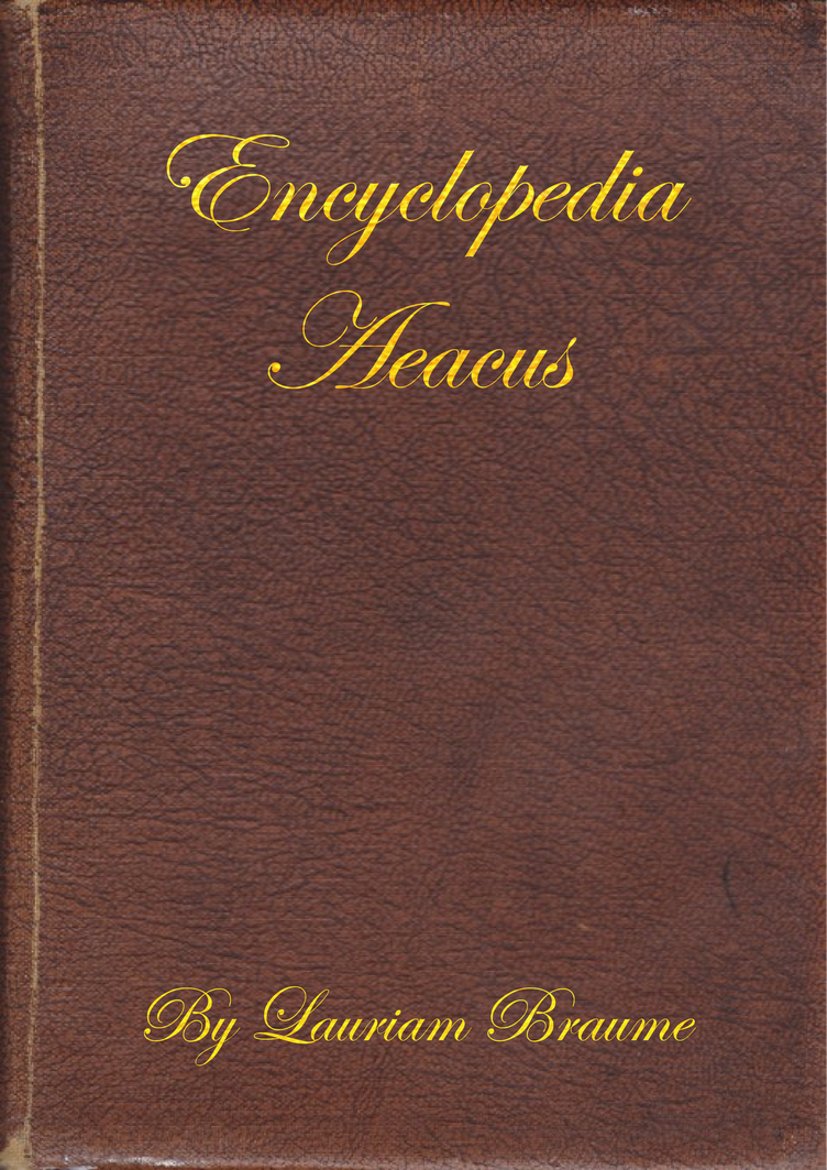 Encyclopedia Aeacus by PrincessSammyXaxas