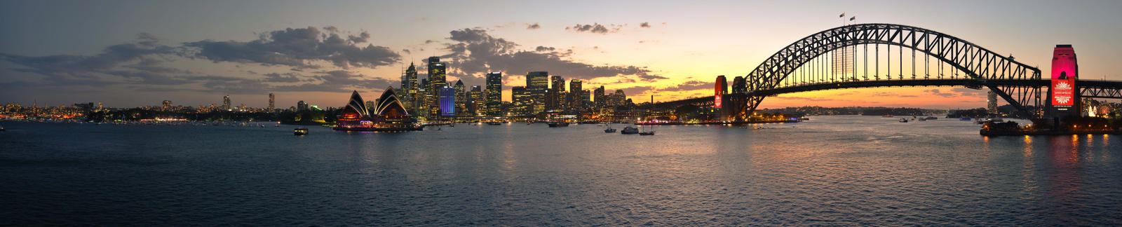 Sydney Harbour by kroysly