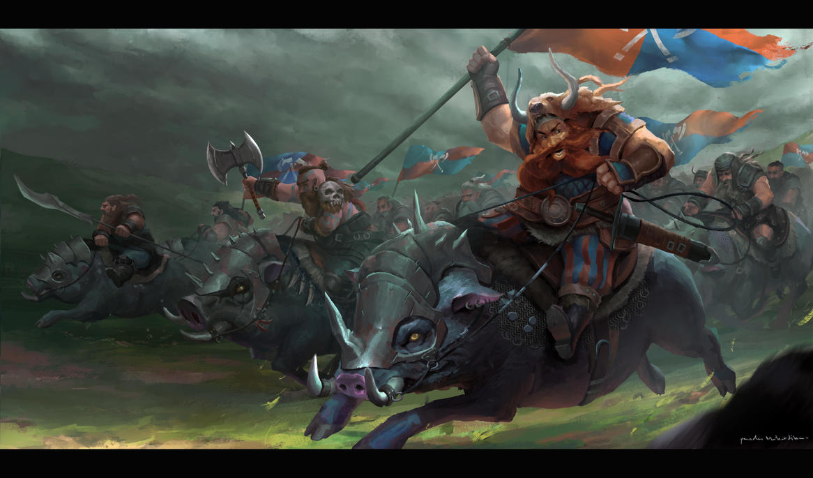 dwarf army by pandumahardika