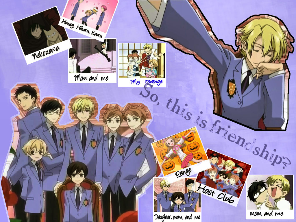 Ouran Host Club wallpaper by