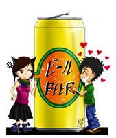 Beer Love by KizUna-Cat