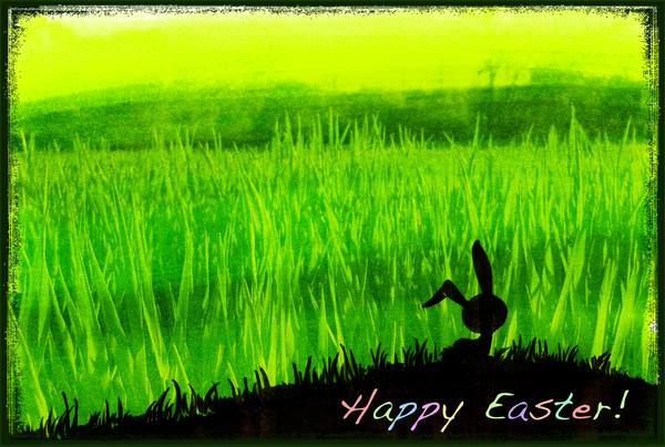 Happy Easter by KizUna-Cat