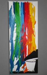 Crayon Art Rainbow