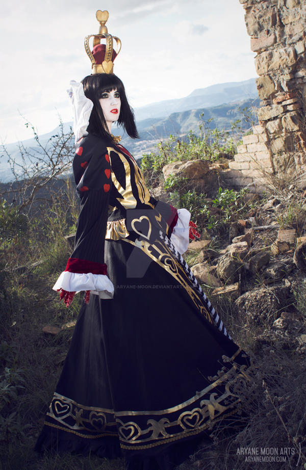 Queen of Hearts Cosplay - Alice Madness Returns 3 by aryane-moon
