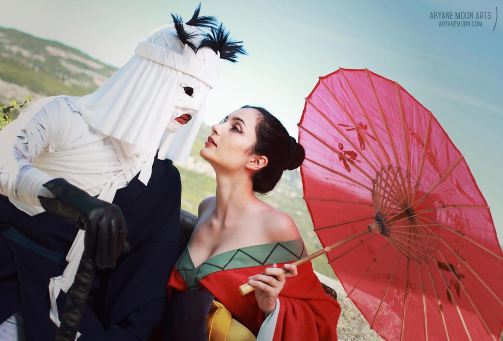 Rurouni Kenshin Cosplay ~ Makoto and Yumi 1 by aryane-moon