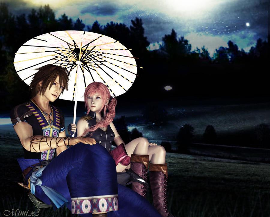 The Umbrella by Serah-Lightning