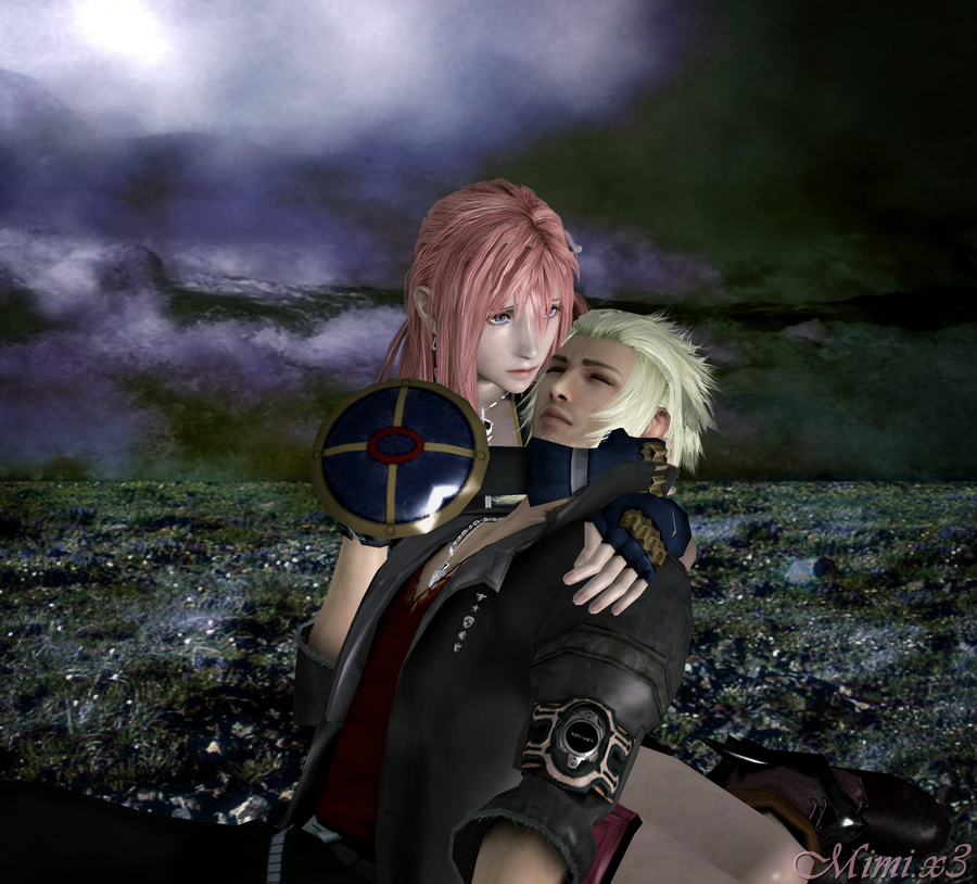 Final Fantasy Serah And Lightning Don't leave me alone S...