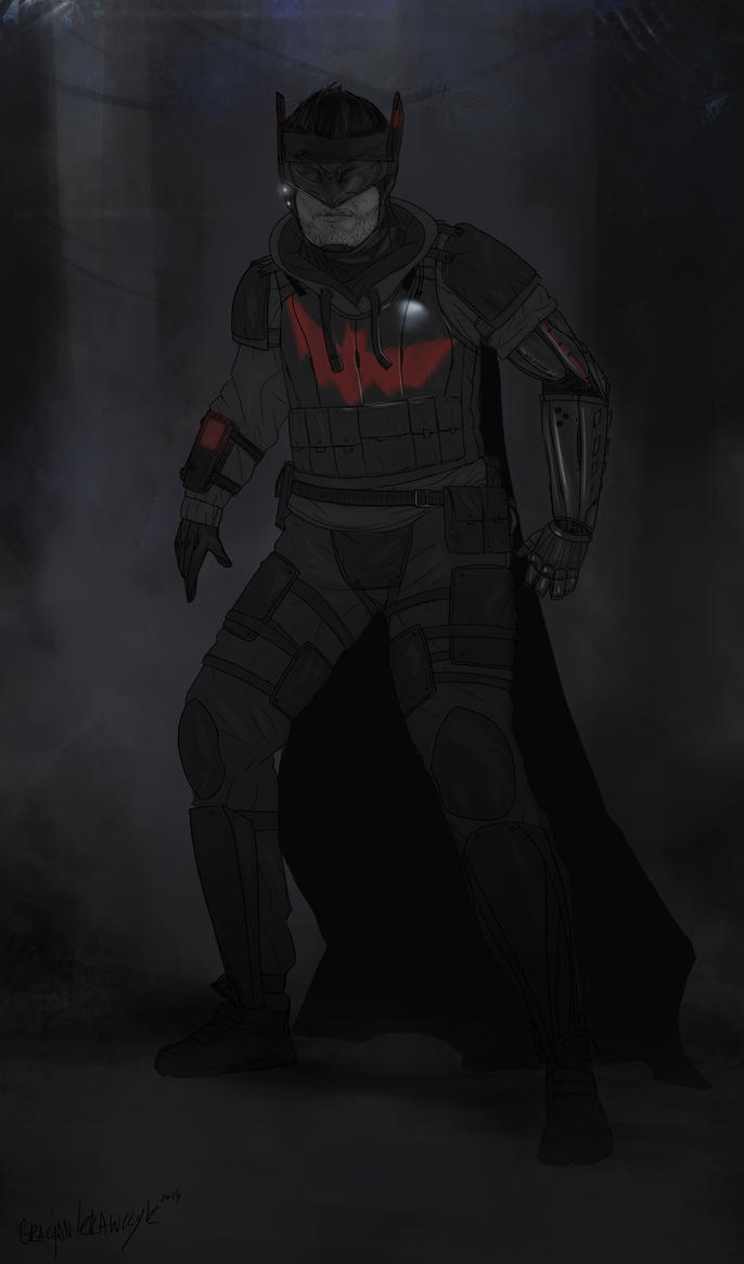 Batman Redesign by keyholestyle