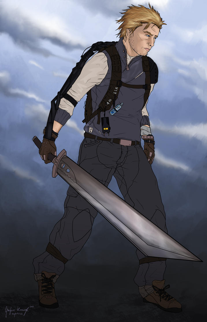 Cloud Strife by keyholestyle