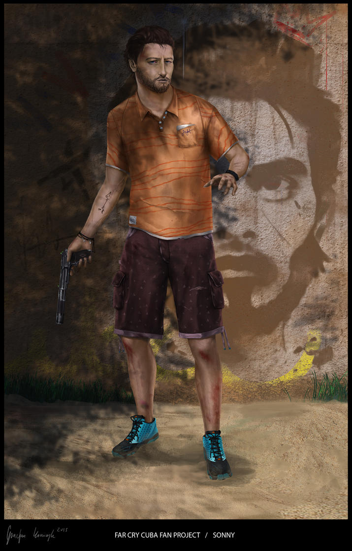 far cry cuba fan project SONNY 3 by keyholestyle