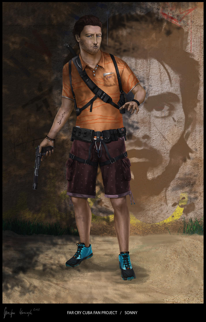 far cry cuba fan project SONNY 4 by keyholestyle