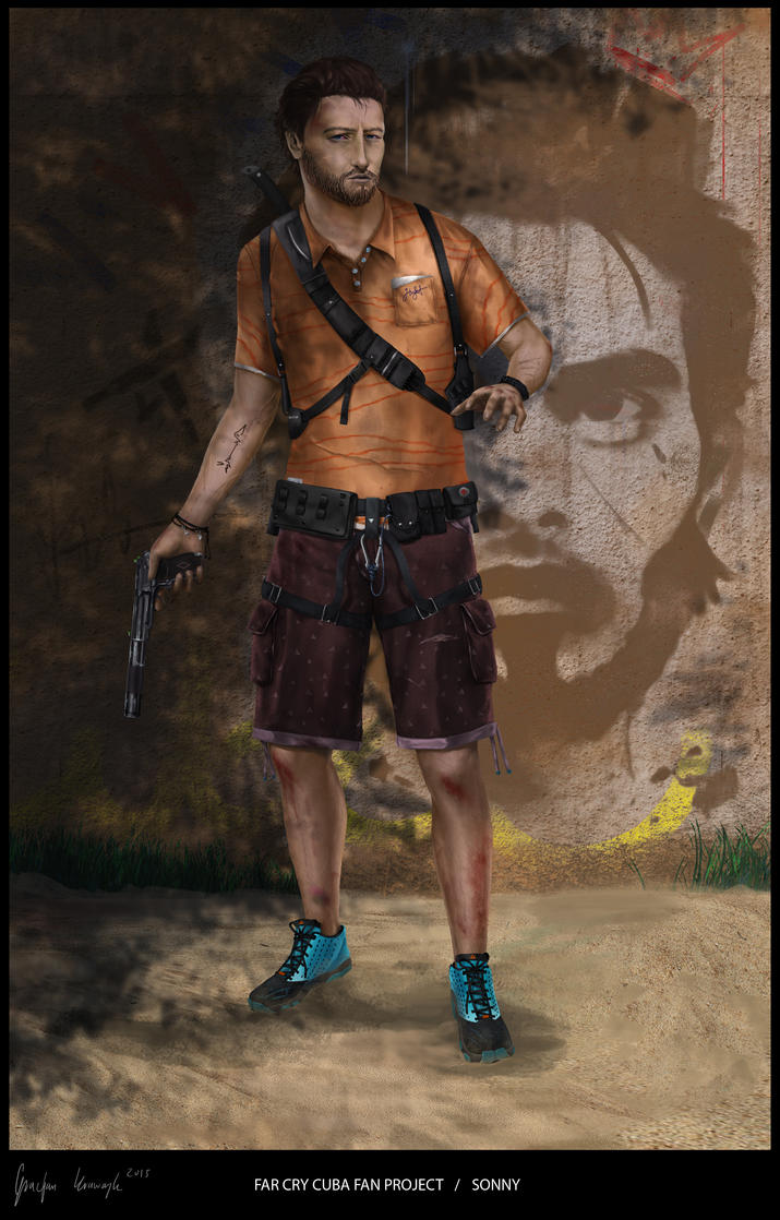 far cry cuba fan project SONNY 5 by keyholestyle