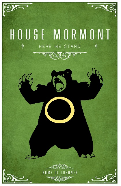 Game Of Thrones Clegane Ursaring Mormont by Ob...