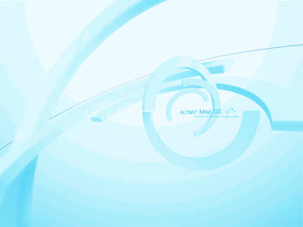 Turquoise ALTIMIT Mine OS Wallpaper