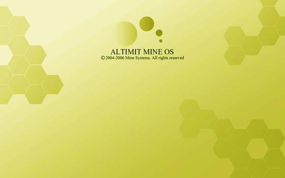 Yellow ALTIMIT Mine OS Wallpaper