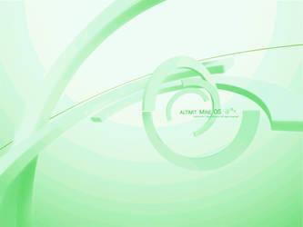 Green ALTIMIT Mine OS Wallpaper