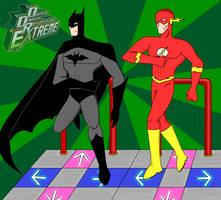 Maniac-- Go: Batman vs Flash by Oracle01