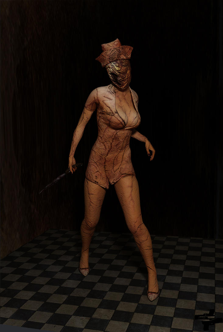 Nurse from Silent Hill: Homecoming | Cycles Render by Rockeeterl
