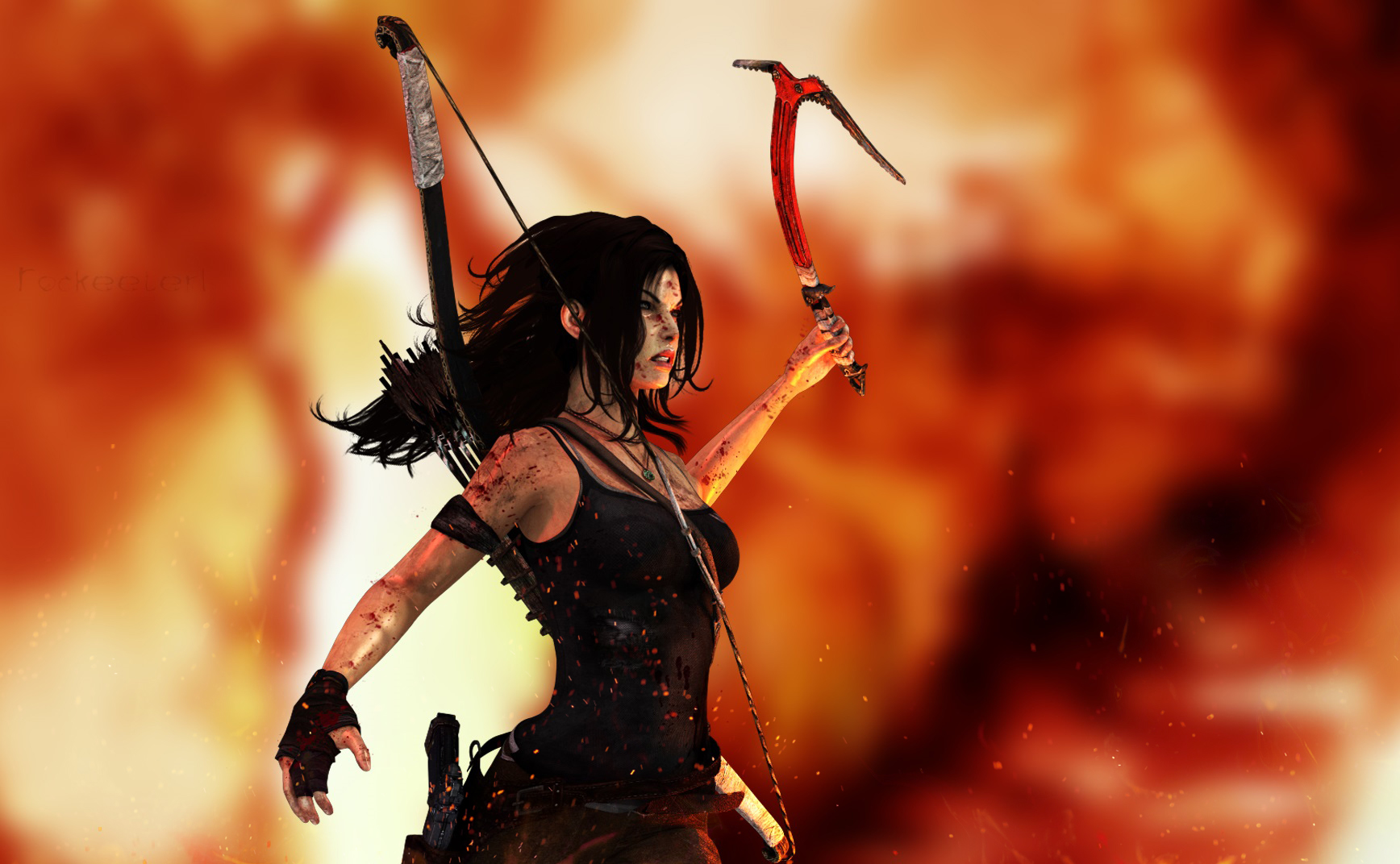- Innocence Killed | Tomb Raider (Wallpaper) by Rockeeterl