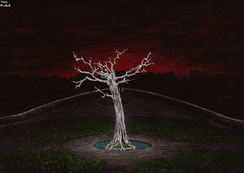 White Tree of Gondor by Apelure