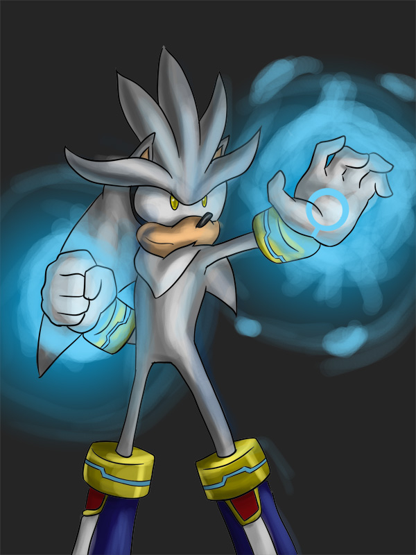 OHSCM01- Silver the hedgehog by YeyeiAlba