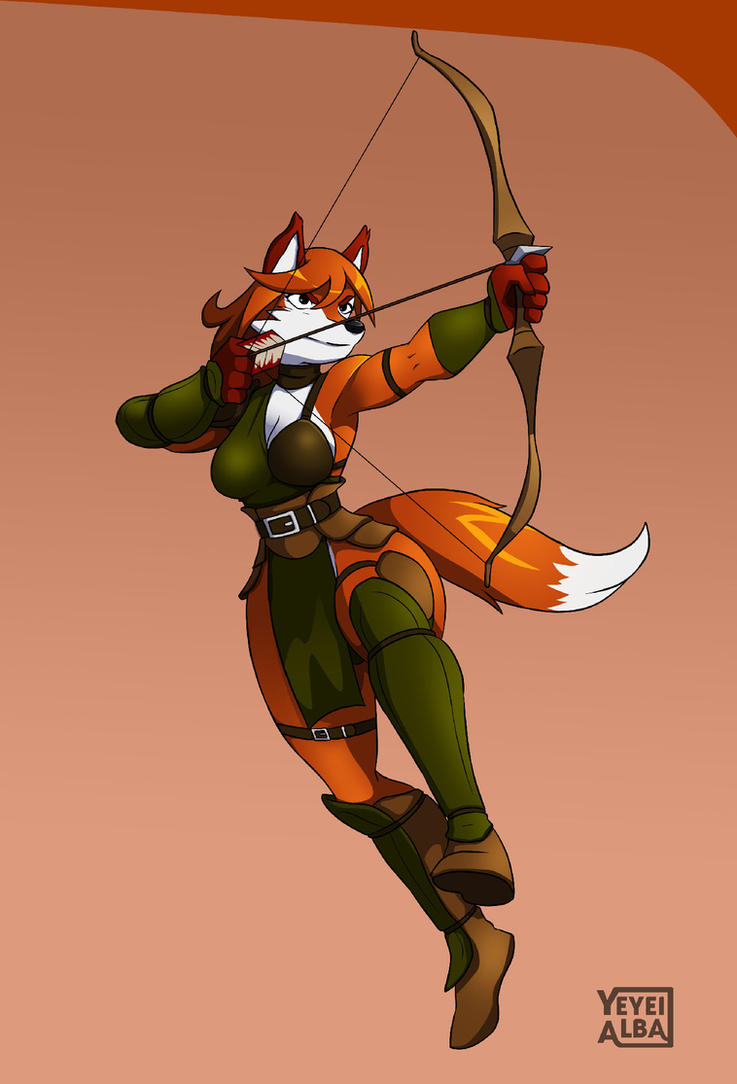Fox huntress by YeyeiAlba
