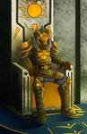 King of dawn by YeyeiAlba