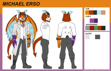 [COMM] Michael Erso Ref Outfit by YeyeiAlba