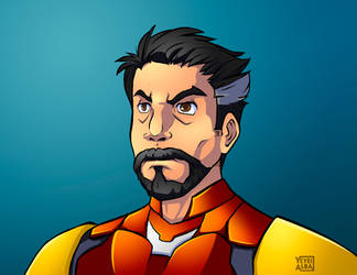 He is iron man by YeyeiAlba