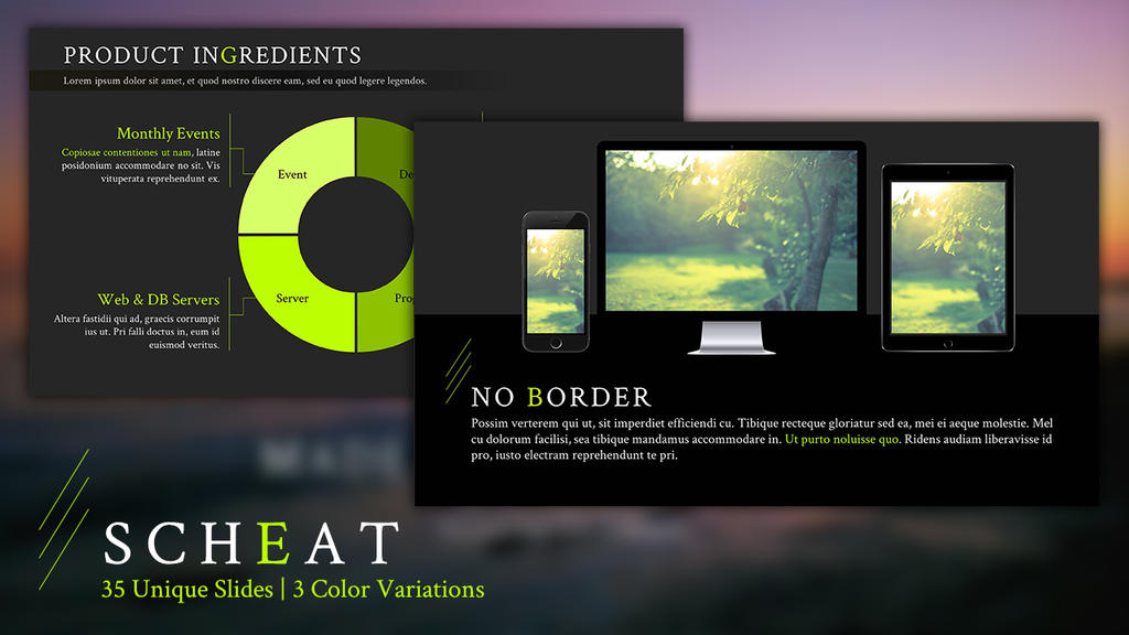 Scheat Free Powerpoint Template By Junakizaki On Deviantart