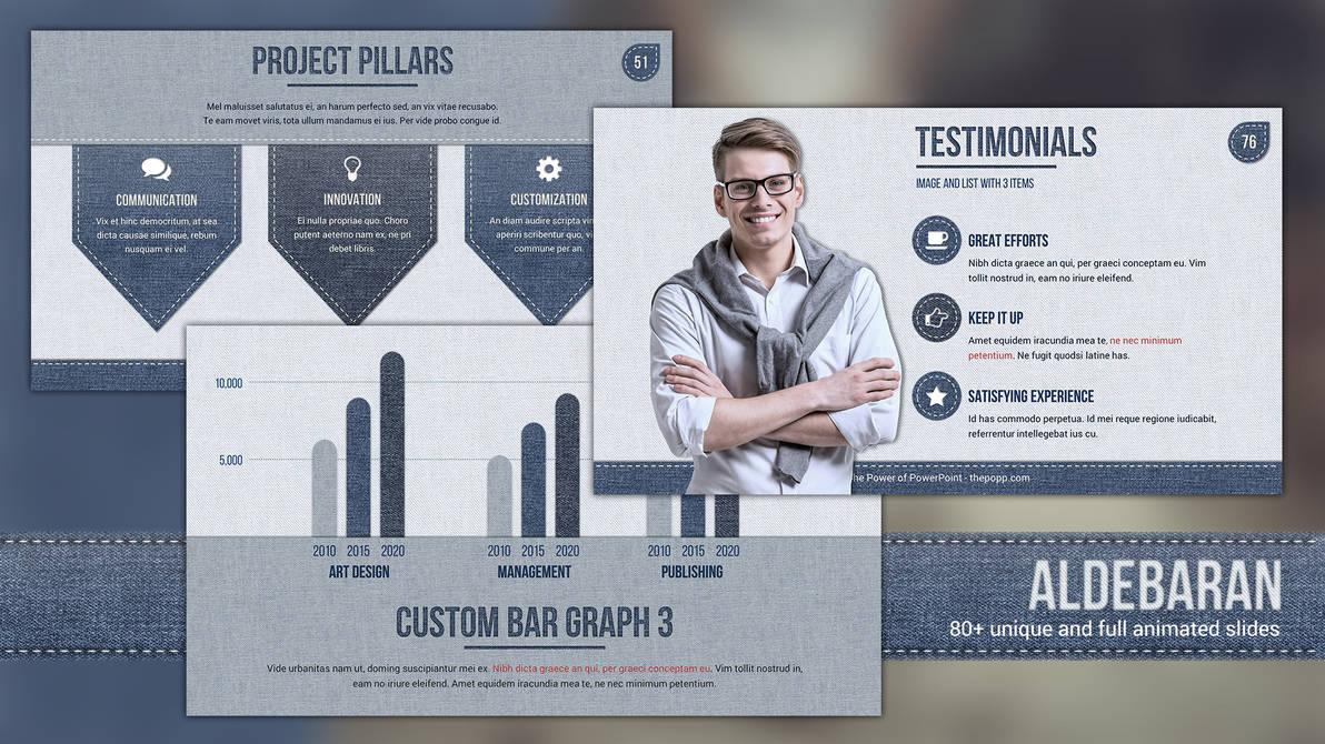 Aldebaran - Free PowerPoint Template by JunAkizaki on DeviantArt