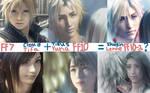 FF7 + FF10 EQUALS FF10-2